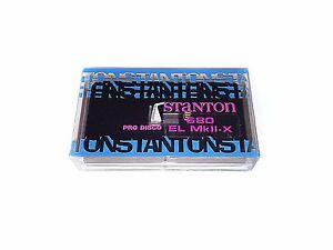 stanton 680 mkii  Stanton 680 EL MkII-X - Phono Cartridge Stylus for 680 MKII AL/EL ...