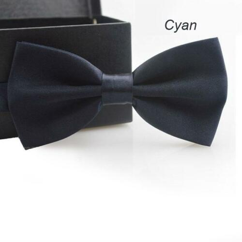 Formal Bow Tie Set For Men Solid Color Neck Suits Accessories Fashion Adult Wear