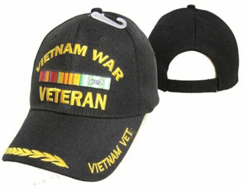 Vietnam War Veteran Vet Black Feather Eggs Embroidered Cap Hat CAP780 TOPW