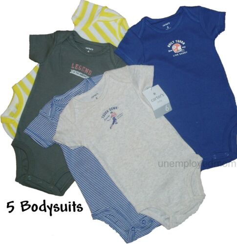 Bodysuit Shirt Tee Top Romper Undershirt Boys Girls Lot Creeper One Piece Baby