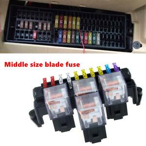 Car Auto Fuse Box 80A 5-Pin Relay Socket Base Holder Interior Engine Parts  Kit | eBayeBay