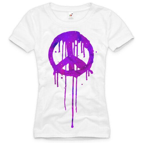 DESIGNT-Shirt DAMEN neon party pink glow party pink indie lila XS S M L XL XXL ♀