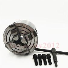 "4"" 4 Jaw Lathe Chuck 100mm 4-Jaw Independent Reversible Chucks K72-100 CNC Lathe"