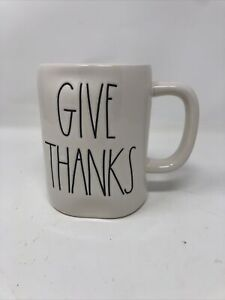 Rae-Dunn-By-Magenta-Thanksgiving-GIVE-THANKS-Mug-Ivory-LL