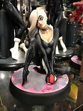 SIDESHOW BLACK CAT COMIQUETTE STATUE J. SCOTT CAMPBELL MARVEL COLLECTIBLE