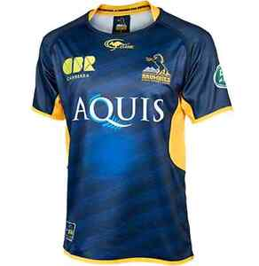 ACT Brumbies Home Jersey Sizes S-3XL! Official Super Rugby! 6