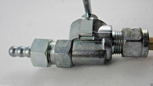 Robinet d/'essence Rixe droites départ m12x1 stable alu Levier-fuel tap
