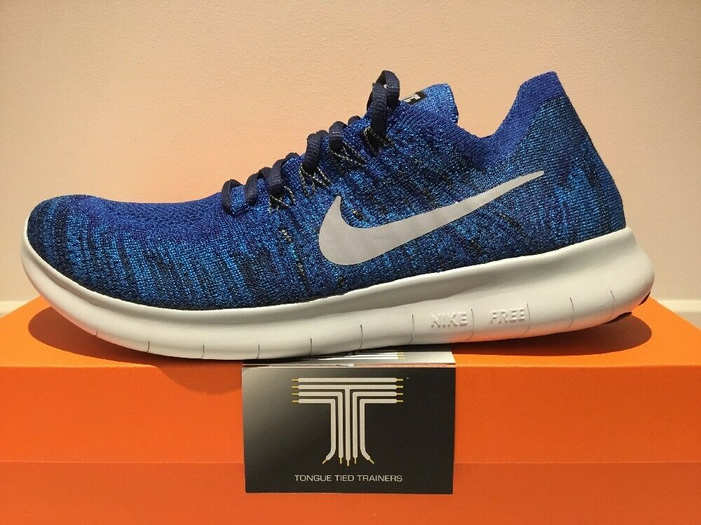 nike libre rn flyknit 2017 ~ 880843 405 ~ ~ ~ taille 8,5 3e7611