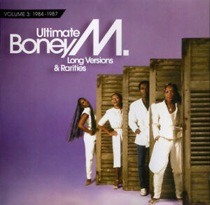 Boney-M-CD-Ultimate-Boney-M-Long-Versions-amp-Rarities-Volume-3-1984-1987