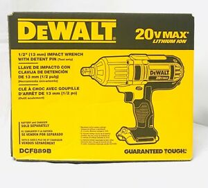 Dewalt-DCF889B-1-2-034-20-Volt-20V-Max-High-Torque-Impact-Wrench-Brand-New-Sealed