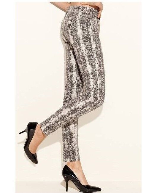 Guess Brittney Skinny Python Print Jeans - Size 29 - SOLD OUT ONLINE