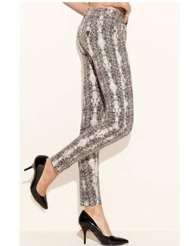 Guess Skinny Jean Python Print Jeans - Size 29  Wa