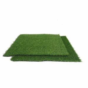 2 Pcs 8 Sq Ft Eco Friendly Artificial Green Grass Carpet Mats Wedding Party Sale Ebay