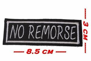 Patch à coudre ou à coller  -*- No Remorse -*