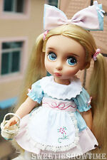 """Disney Baby doll clothes Alice dress clothing Animator's collection 16"""" NO DOLL"""