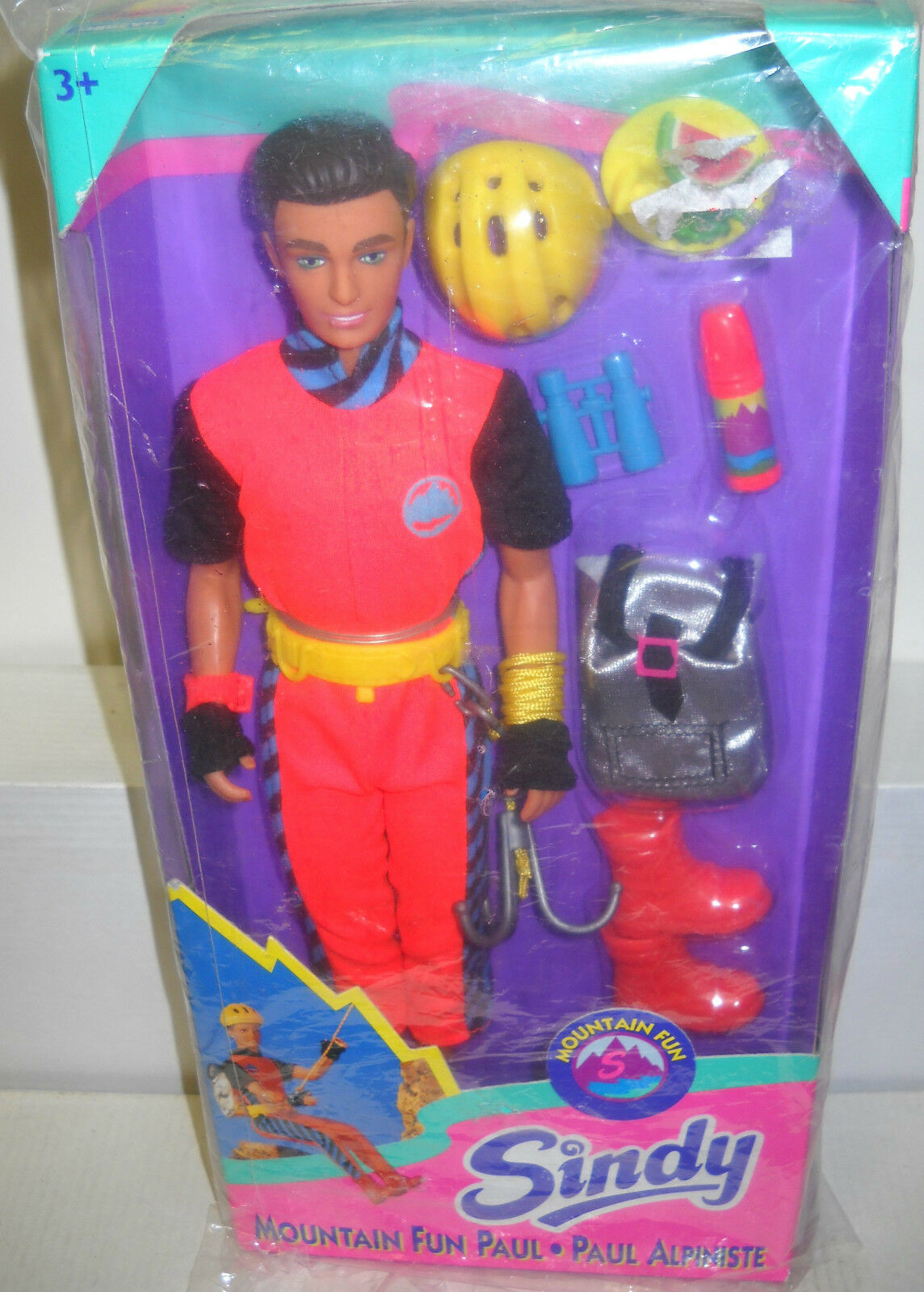 6170 NRFB Vintage Hasbro Sindy - Mountain Fun Paul Doll