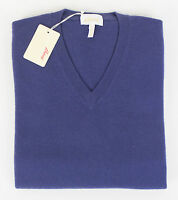 Brioni Men's Purple Cashmere V-neck Knit Sweater Size 48/38/s $1885 on sale