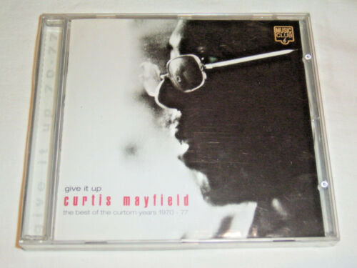 1 von 1 - CD Curtis Mayfield Give it up The Best of The Curtom Years 1970-77 - Neu OVP -S3