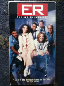 ER The Series Premiere  VHS - Herne Bay, Kent, Kent, United Kingdom - ER The Series Premiere  VHS - Herne Bay, Kent, Kent, United Kingdom