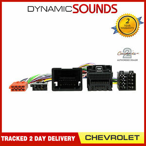 CT10CV04 Parrot SOT T-Harness ISO Wiring Lead for Chevrolet Cruze 2009-2015