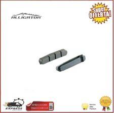 Coppia Pattini Freno Bici Sport Olanda Saccon Nero Alluminio