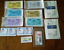 Survival Prepper or Bug out first aid kit with 6 sutures and Steri-Strips