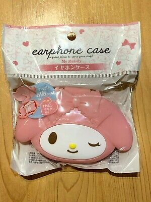 New SANRIO My Melody Cute Earbuds Earphones In-Ear Headphones Case sale