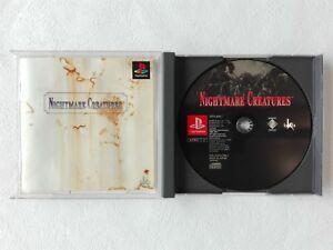 NIGHTMARE-CREATURES-PS1-Sony-Playstation-From-Japan