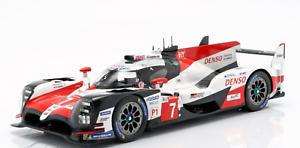 1 18 Spark Toyota TS050 Hybrid 24h Le Mans 2018 GAZOO RACING S341