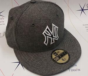 Caricamento dell immagine in corso Cappello-New-Era-NY-Yankees -grigio-nero-59FIFTY- ca596a88a151