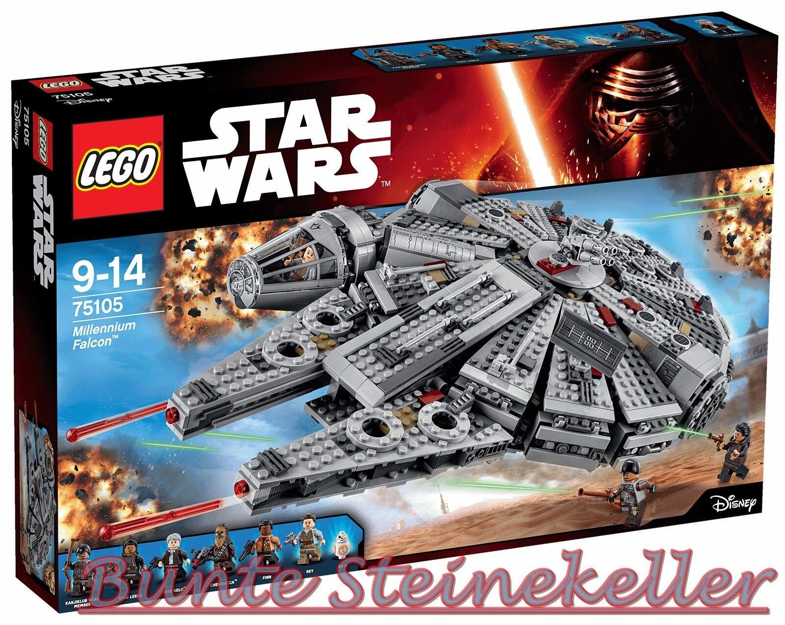 LEGO ® star wars ™: 75105 75105 75105 Millennium Falcon ™ & 0. -€ expédition & OVP & NOUVEAU! | Pas Cher  8bce64