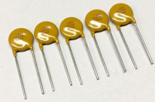 5 PCS VISHAY 130v AC//DC 170v Varistor//VDR m1789