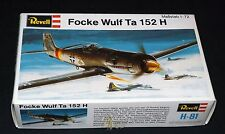 Revell 1/72 Focke Wulf Ta-152H  German Air Defense Fighter - NIOB
