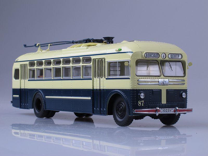 Soviet trolley bus MTB 82 1962 USSR SSM 1 43 SSM4003