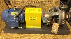 Flowserve pump mk3 std 82rv weg w21 for Weg severe duty motor
