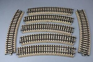 X991-Marklin-train-Ho-M-7-rail-element-voie-courbe-5100-Marklin-1-1-10-Stuck