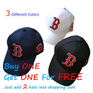 Boston-Red-Sox-Baseball-Unisex-Hat-Cap-Letter-B-Mens-amp-Womens-Cotton-AU-Stock