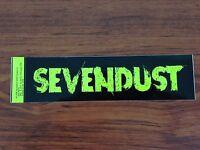 Sevendust - Logo - Sticker/decal - Brand Vintage - Music Band 117