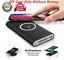 miniature 2 - Qi Wireless 500000mAh Power Bank Charging 2in1 Portable USB Battery Charger Case