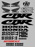 Decal Stickers Graphics Kit For Honda Cbr600f4 Cbr 600 F4 Fairing Tank Emblems