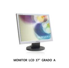 """MONITOR LCD RICONDIZIONATO SAMSUNG 720N MULTIMEDIALE 17"""" GRADO A 19"""" FUJITSU"""