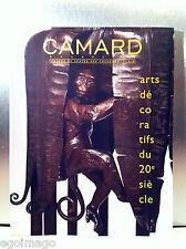 """SUPERBE CATALOGUE DE VENTES """"ARTS DÉCORATIFS du XXe """" CAMARD PARIS 2 Juin 2010"""