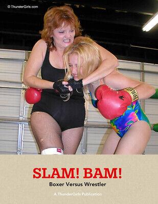 Boxing women fetish