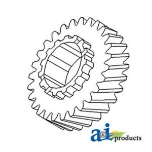 70246531 2nd Gear Fits Allis-Chalmers Tractor: 180,185,190, 190XT, 200