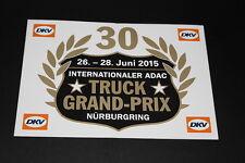 +184 Truck GP Rennen 2015 Nürburgring Aufkleber Sticker Kleber Bapperl Logo
