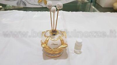 Bomboniere Matrimonio Via Veneto Pprofumatore Corona In Ceramica Panna E Oro Ebay