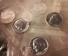 1963 PROOF Roosevelt Dime Roll Of 50 Nice Silver Coins In Mint Cello $5 Face