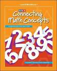 Connecting Math Concepts Level B: Workbook 1 by SRA/McGraw-Hill, McGraw-Hill Education (Leather / fine binding, 2011)