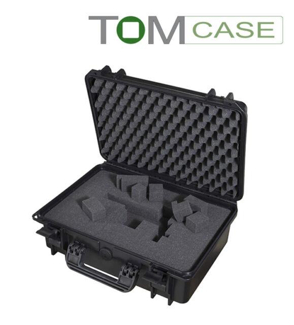 Outdoor Case 465x365x175, Fotokoffer Rasterschaum,Top, Kamerakoffer wasserdicht