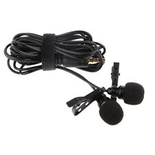 PRO Omnidirectional Lavalier Lapel Microphone Mic for Mobile Phone Computer